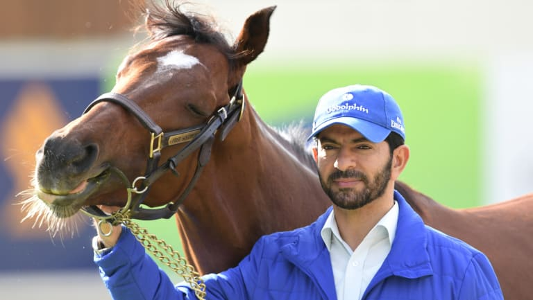 Penalty free: Trainer Saeed bin Suroor with Best Solution.