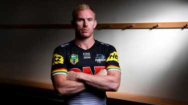Retired: Penrith captain Peter Wallace.