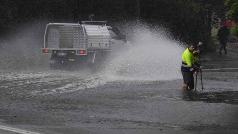 Flooded roads, blocked drains: Just part of life in Lewisham when it rains.