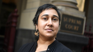 Meena Singh from the Victorian Aboriginal Legal Service.