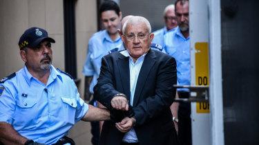 Behind bars: Ron Medich.