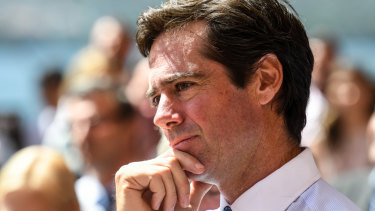 AFL chief Gillon McLachlan.
