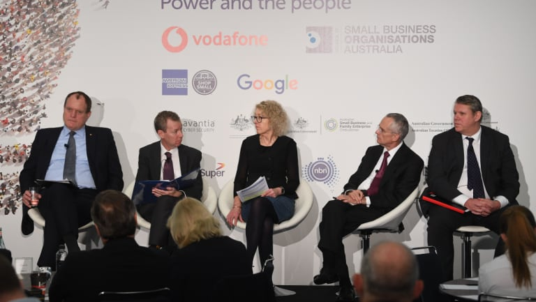 Chris Jordan appeared on a panel of regulators at the Vodafone National Small Business Summit.