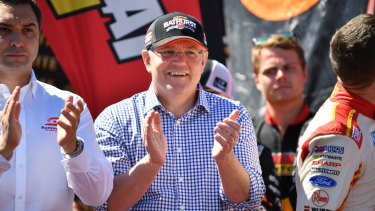 Scott Morrison believes big sporting events should be platformed.