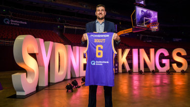 The King is here: Bogut revealed the extent of the sacrifice he's made coming home to Australia.