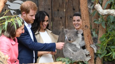 The NSW Premier thanked the Duke and Duchess for opening a new institute at Taronga Zoo.
