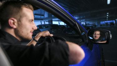 Jason Phelan has quit using his phone while driving.
