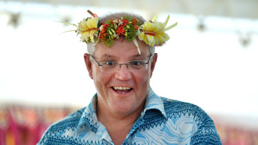 Time to put on his thinking cap: Prime Minister Scott Morrison.