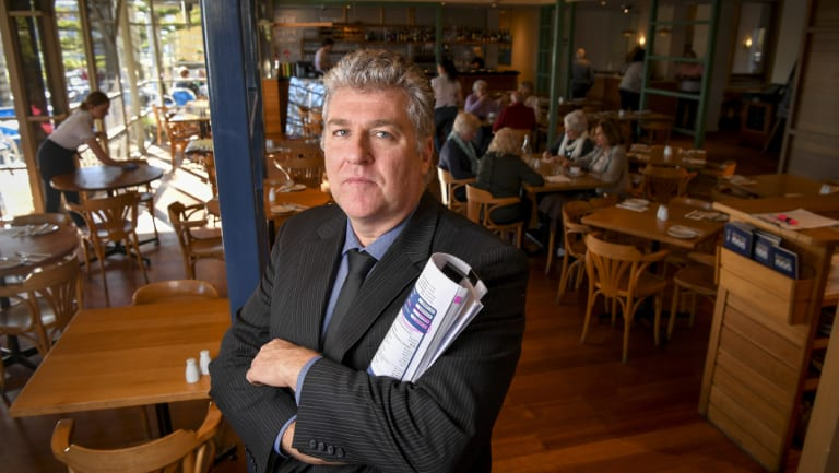 Publican Robbie Beaton says he needs to pour 120 more pots of beer each day to keep pace with power bills.