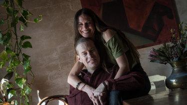 Tom Long and wife Rebecca Fleming.