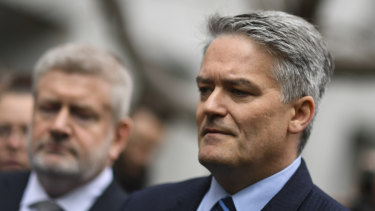 WA Senator Mathias Cormann is standing by his decision to withdraw support from former Prime Minister Malcolm Turnbull.