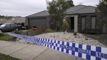 Police have cordoned off a property on Phillip Drive in Sunbury where one man was arrested.