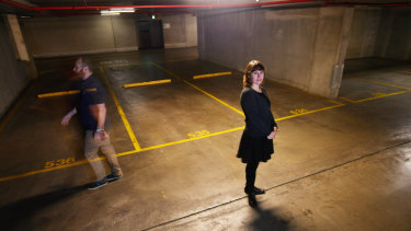 Dr Elizabeth Taylor's research is the most comprehensive study to date on unused parking spaces in Melbourne.
