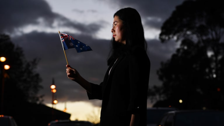 Zoe Ma has waited 17 months for her citizenship application to be processed.