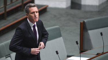 Former Fremantle MP Josh Wilson, who is recontesting the seat after falling foul of the constitution's dual citizenship rules..
