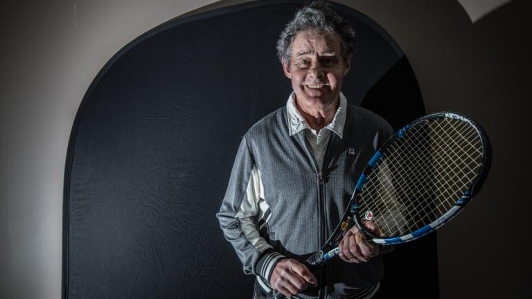 Reid Tennis Club president Terry Walker says the club has helped people feel part of something in the national capital.