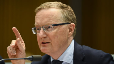 RBA governor Philip Lowe says Australia has a lot riding on the outcome of the trade and technology disputes between the US and China.