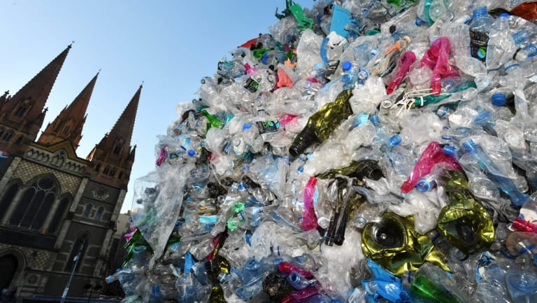 Australia's plastic waste crisis will get worse before it gets better says a Credit Suisse report.