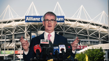 Labor has stuck to one message since Michael Daley took over as leader and pushed the stadiums debate relentlessly.