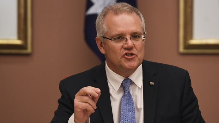 New Prime Minister Scott Morrison's trip is shorter than the one that had been planned by Malcolm Turnbull.