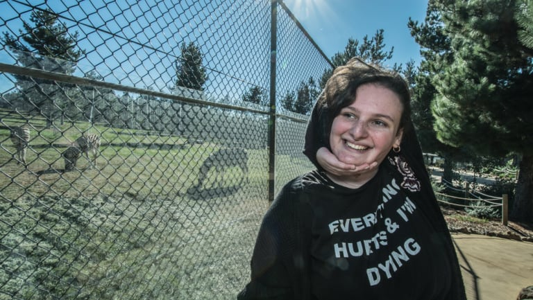 Ehlers-Danlos Syndrome patient Zoe Aldridge of Fadden