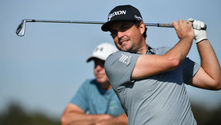 World No.30: But Keegan Bradley isn't a huge drawcard for the Australian Open.