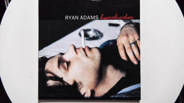 Ryan Adams Heartbreaker album is among the items donated to the Melbourne Writers Festival's Museum of Broken Relationships