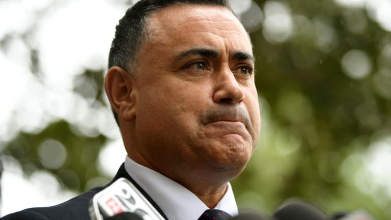 NSW Deputy Premier John Barilaro.