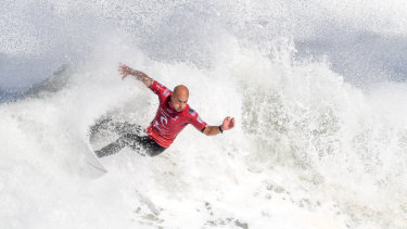 Kelly Slater says it will be hard for John John Florence and Gabriel Medina to reach his number of 11 championships.
