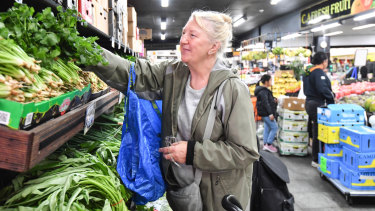 Christine Havill is happy to pay more for groceries because of the drought, but says clever shoppers can still find reasonable prices.