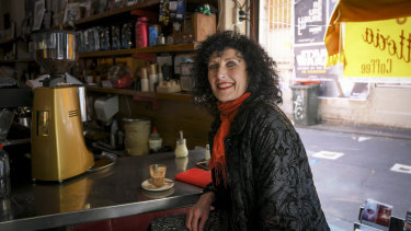 Long-time regular Pauline Leonard: 'Sisto loved kids, telling them about this city'.