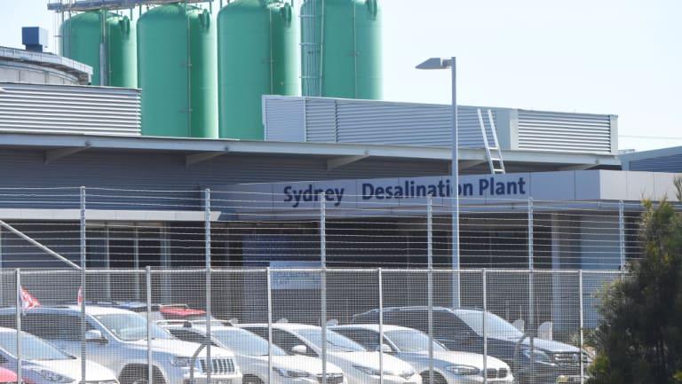 Sydney Desalination Plant in Kurnell.