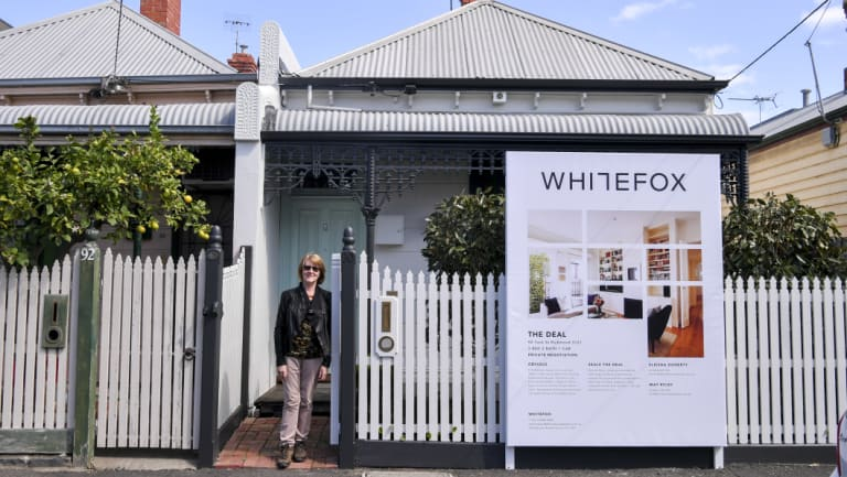 Christine Roughhead did not have to do much to her terrace in Melbourne's Richmond as it was renovated in 2000