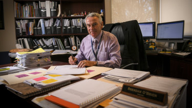Brendan O'Brien, the principal  of Carranballac College in Point Cook.