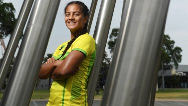 Youn guns wanted: Australia's teenage sevens sensation Sariah Paki could be joined by more young stars soon.