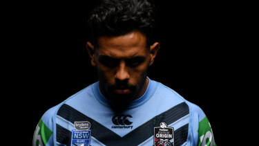 Making a stand: NSW winger Josh Addo-Carr.