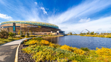 Perth's stunning Optus Stadium will be in the sporting spotlight across Australia with two massive fixtures in two codes this weekend.