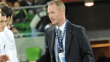 Craig Moore has quit as Brisbane Roar's football director.