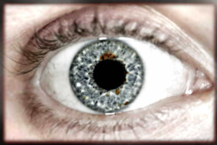 Eye scanning technology could transform travel.