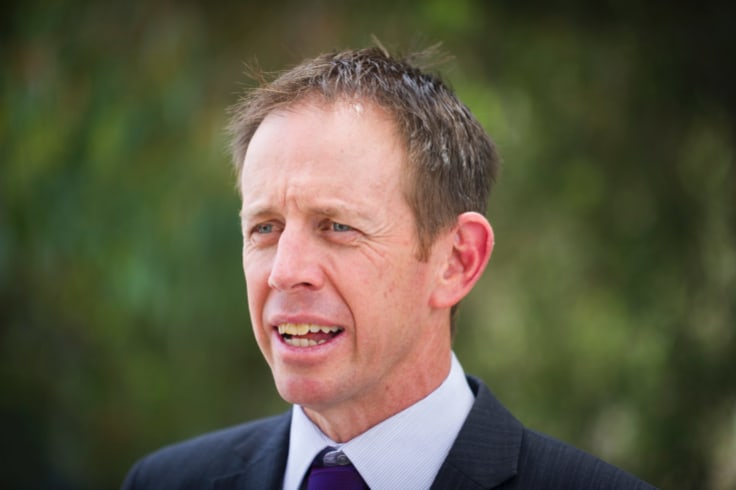 ACT Justice Minister Shane Rattenbury.