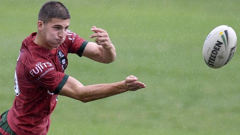 Confident: Adam Doueihi will start agains Penrith.