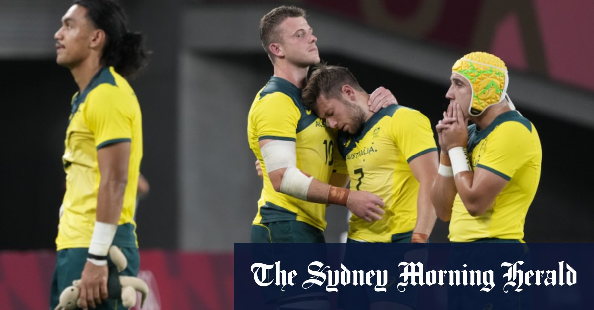 Australia crashes out of rugby sevens in Tokyo