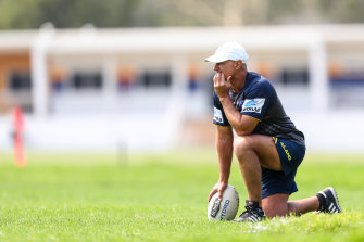 On Wednesday, Parramatta coach Brad Arthur joined John Morris, Dean Pay, Adam O'Brien, Paul Green and Ivan Cleary in being stood down immediately.
