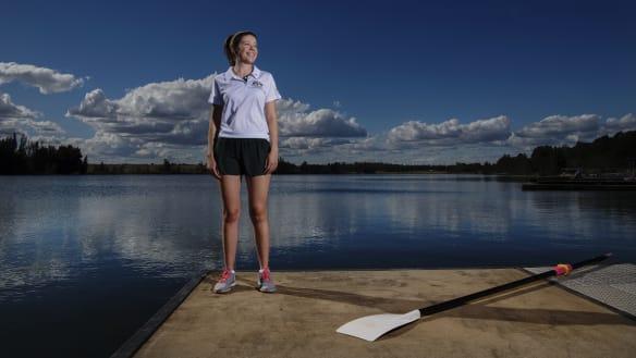 Steering change: Woman to cox for Australian men's eight