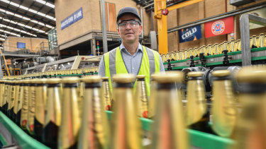 Carlton & United Breweries chief executive Peter Filipovic.