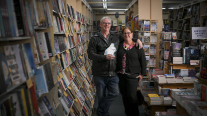 'I've seen kids grow up, have babies then bring them in': Tim's Bookshop for sale after 35 years