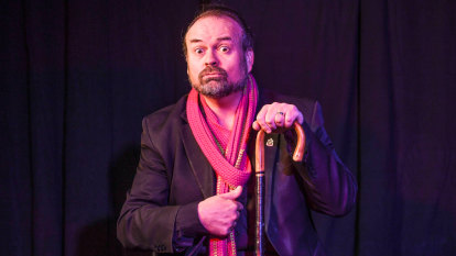 The man who survived abuse and turned it into a comedy show