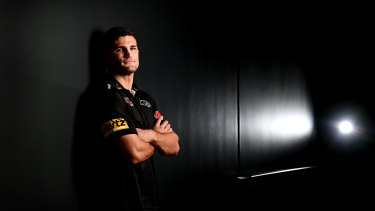 Nathan Cleary says he was riddled with doubt about his comeback when Eels hooker Reed Mahoney was ruled out for the season.
