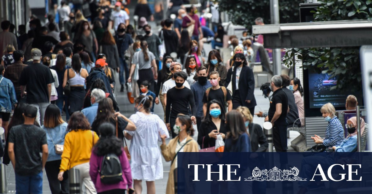 As busy as Bourke Street: Push for CBD recovery gathers pace – The Age