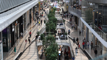 Vicinity's Chadstone mall before the pandemic.